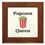 Popcorn Queen Framed Tile