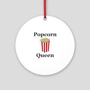 Popcorn Queen Ornament (Round)