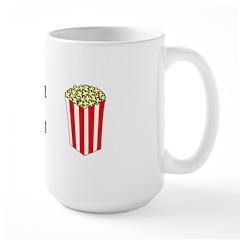 Popcorn Princess Large Mug