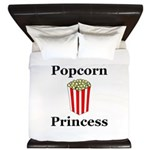 Popcorn Princess King Duvet