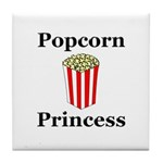 Popcorn Princess Tile Coaster