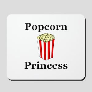 Popcorn Princess Mousepad