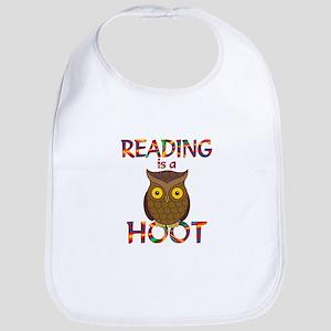 Reading is a Hoot Bib