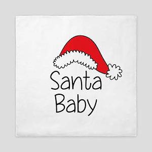Santa Baby Queen Duvet