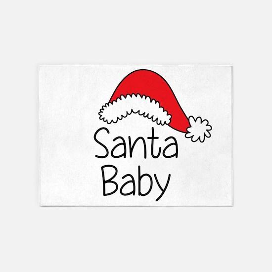 Santa Baby 5'x7'Area Rug