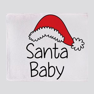 Santa Baby Throw Blanket