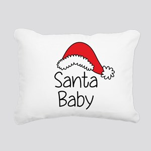 Santa Baby Rectangular Canvas Pillow