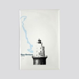 Cape Henlopen - Lighthouse. Rectangle Magnet