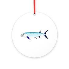 Xiphactinus audax fish Ornament (Round)