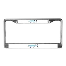 Xiphactinus audax fish License Plate Frame