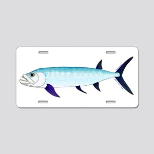 Xiphactinus audax fish Aluminum License Plate