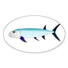 Xiphactinus audax fish Sticker