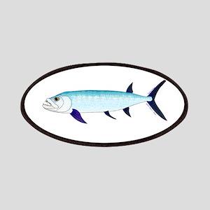 Xiphactinus audax fish Patches