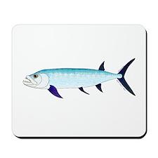 Xiphactinus audax fish Mousepad