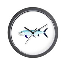Xiphactinus audax fish Wall Clock