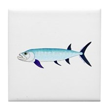 Xiphactinus audax fish Tile Coaster