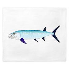 Xiphactinus audax fish King Duvet