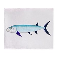 Xiphactinus audax fish Throw Blanket