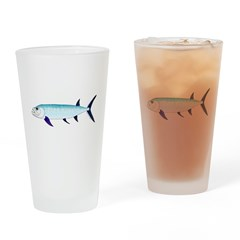 Xiphactinus audax fish Drinking Glass