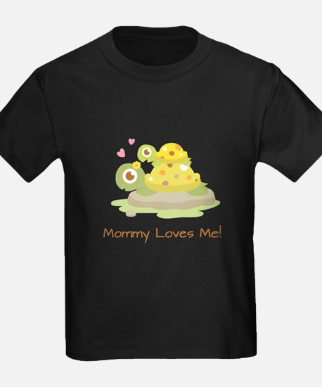 Cute Turtle Mommy and Child T-Shirt