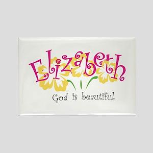 Elizabeth Rectangle Magnet