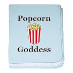 Popcorn Goddess baby blanket