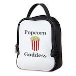 Popcorn Goddess Neoprene Lunch Bag