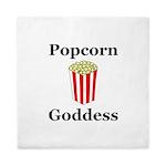 Popcorn Goddess Queen Duvet