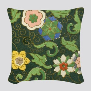 Chinese Pattern Vintage Pattern Cloisonne Woven Th