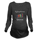 Xylophone Queen Long Sleeve Maternity T-Shirt