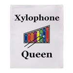 Xylophone Queen Throw Blanket