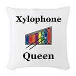 Xylophone Queen Woven Throw Pillow