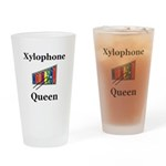 Xylophone Queen Drinking Glass