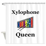 Xylophone Queen Shower Curtain