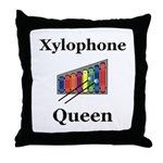 Xylophone Queen Throw Pillow