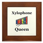 Xylophone Queen Framed Tile