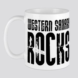 Western Sahara Rocks Mug