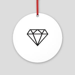 Diamond Ornament (Round)