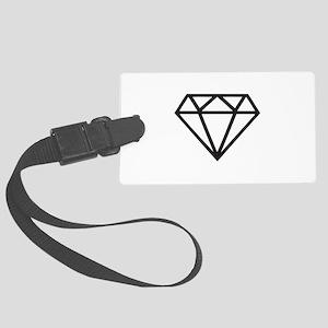Diamond Large Luggage Tag