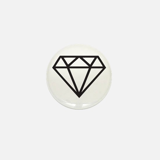 Diamond Mini Button