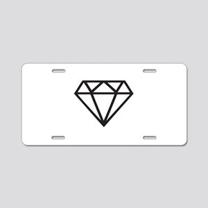 Diamond Aluminum License Plate