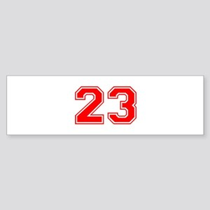 23 Bumper Sticker