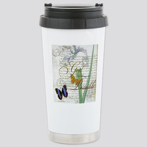 All things are possible Stainless Steel Travel Mug
