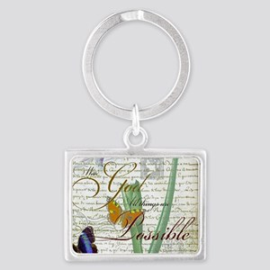 All things are possible Keychains