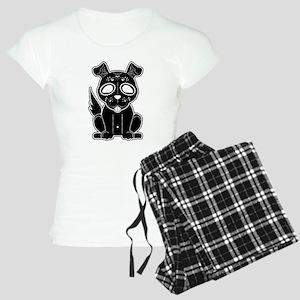 Sugar Puppy - Black Women's Light Pajamas