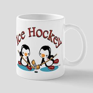 Ice Hockey Penguin Mug