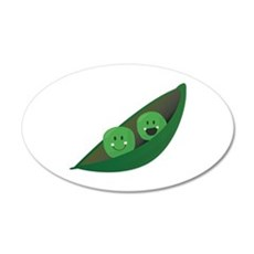 Two Peas Wall Decal
