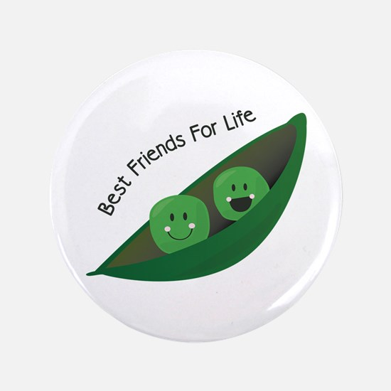 "Best Friend Peas 3.5"" Button"