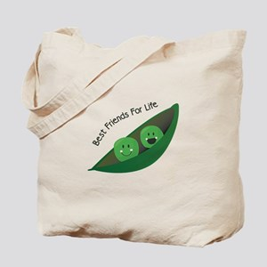 Best Friend Peas Tote Bag