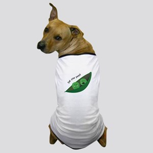 Eat Your Peas Dog T-Shirt